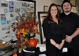 Stacey Stackpoole and Kevin Meyers of the Blue Water Inn