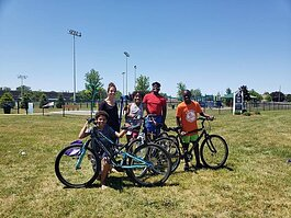 Alpine Cycles can be found at a city park every Monday and Wednesday for the rest of July. There they'll be offering free bicycle safety checks and tune-ups. Just show up, bring an old bike over, and pedal away.