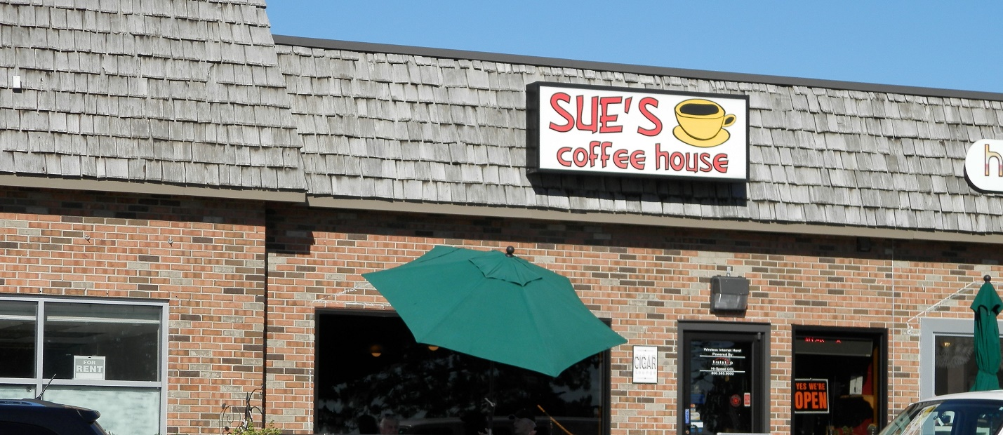 Sue's Coffee Shop in St. Clair is a family-owned store. <span class='image-credits'>Jeri Packer</span>