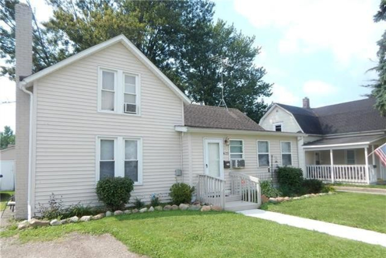 With a little love, this house could be a perfect family home in Marine City.