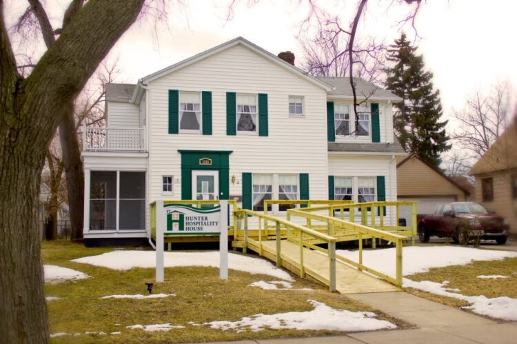 Hunter House offers a home away from home during an emergency.
