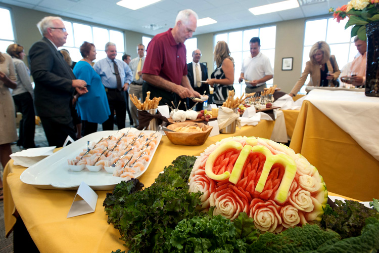 A recent Culinary Institute showcase.