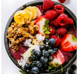 Emily Marriot is most excited to serve fresh acai bowls to her customers.