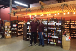Steve Fernandez and Michelle Jones and the newly-renovated  Country Style Market Place in Fort Gratiot.