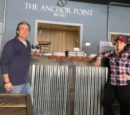 Mark and Kimberly Stevens are eager to watch their business, Anchor Point Bistro grow.