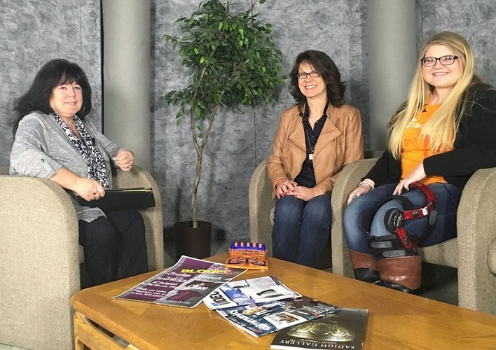 Jo Adair from Power 88.3 Radio interviews founder Karen Palka and mentor Abbey Dombrowski.
