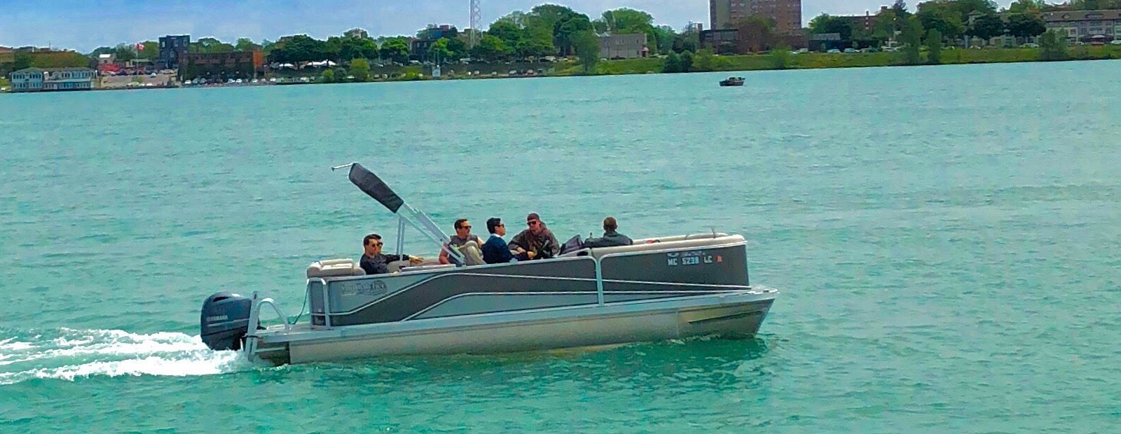 Entertain family and friends on the water this summer by renting a boat. <span class='image-credits'>Courtesy Michigan Boat Rentals</span>