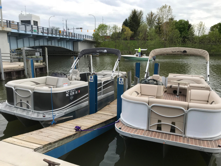 Michigan Boat Rentals currently has two boats available.