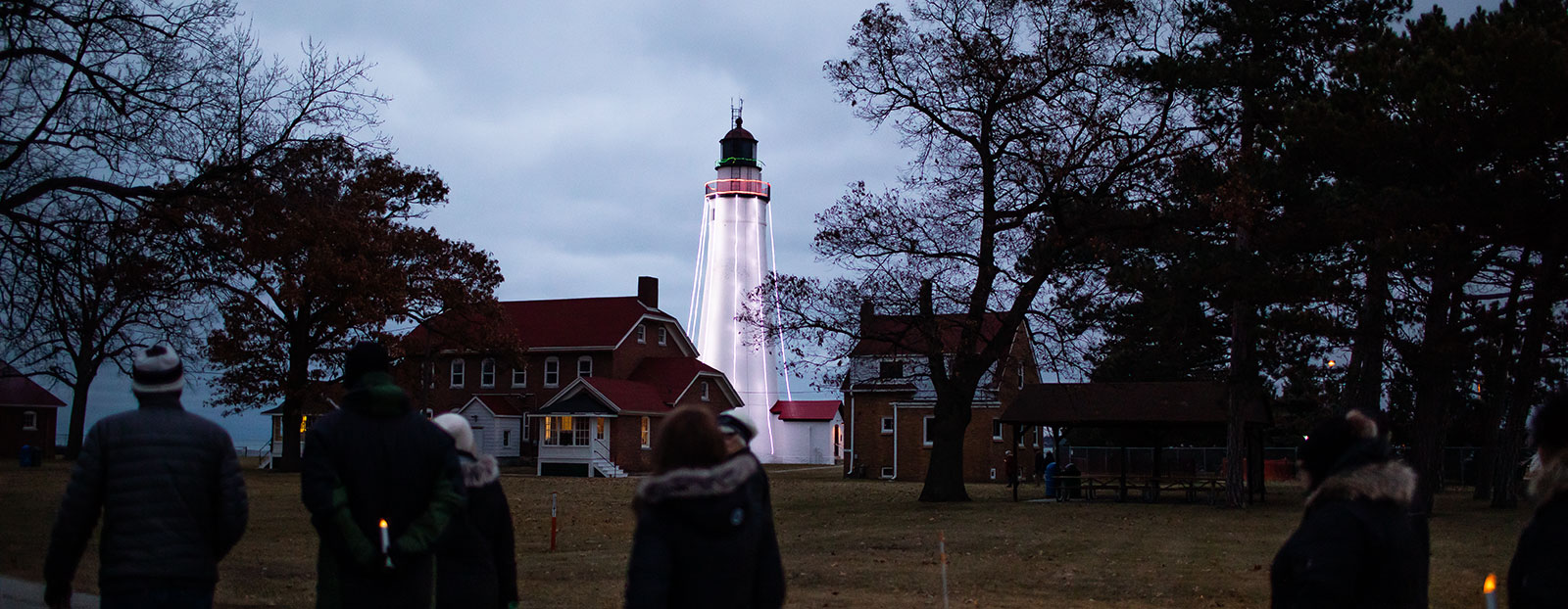 The Fort Gratiot Light Station is a beacon on the St. Clair River. <span class='image-credits'>David Lewinski</span>
