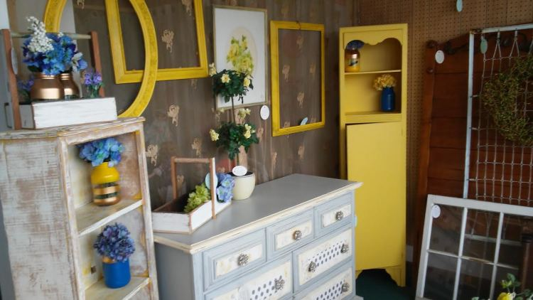 Shabby chic decor is an affordable find at Cinderella