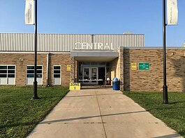 Back to school at Central Middle School