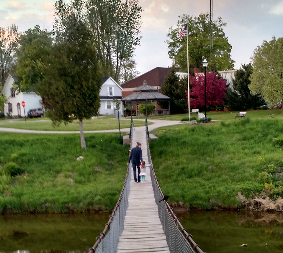 Michigan sanilac county croswell - The Croswell Swinging Bridge