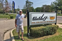 EDG Drumworks just opened in Algonac.
