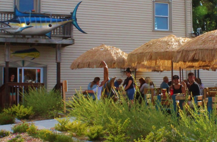 the Marine City Fish Co. has expanded to three times its size, including a larger deck.