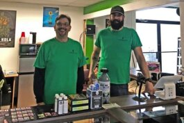 Randy Barlow and Adam Ryniak have opened Garden Hub in Algonac
