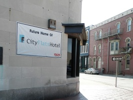 City Flats Hotel is beginning renovations to the building.