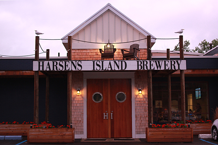 The Harsens Island  Brewery is a great place to try a new craft beer.