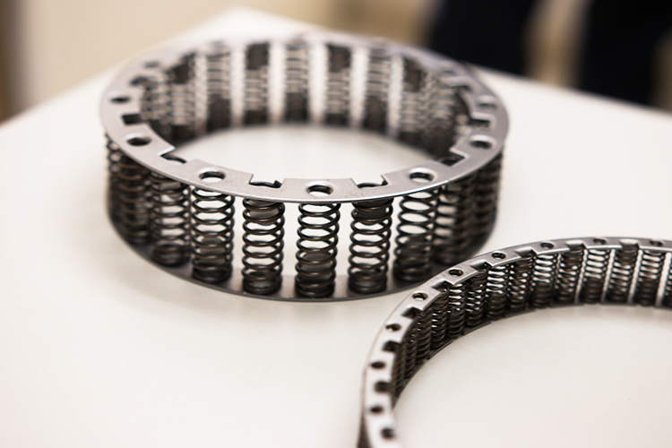 Manufacturing springs has created great success for the company.