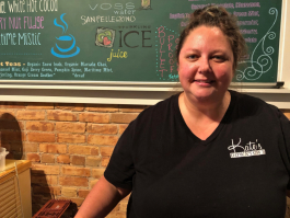 Katie Voss loves serving her customers at her downtown Port Huron business.