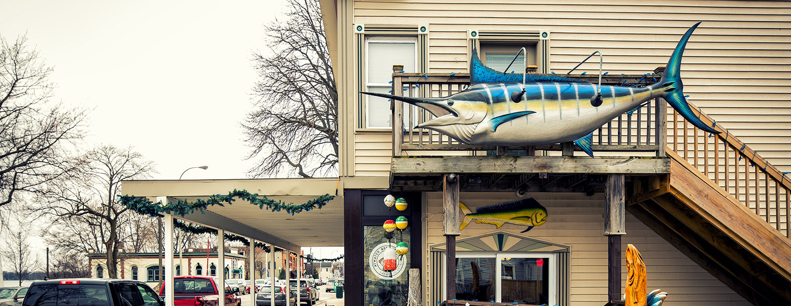 Marine City Fish Co. is a favorite spot for visitors. <span class='image-credits'>David Lewinski</span>