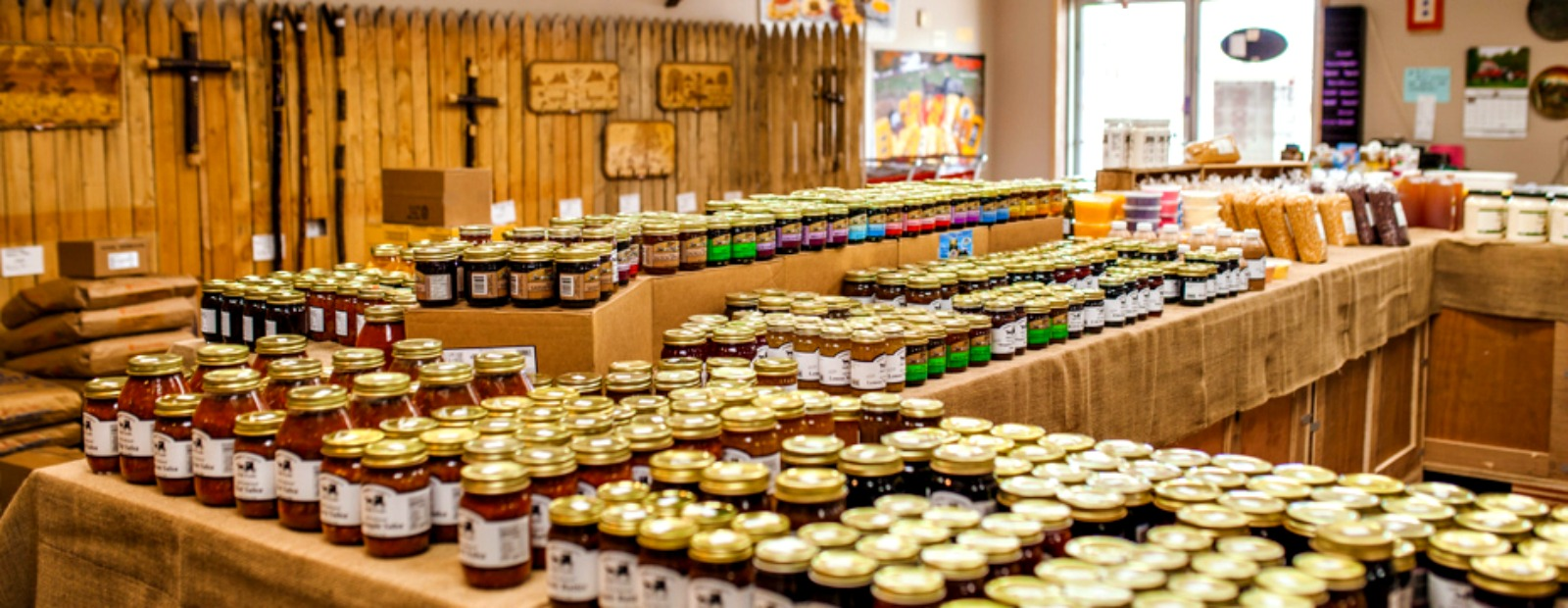Looking for a new jam? Pick something unique at the Amish Country Market