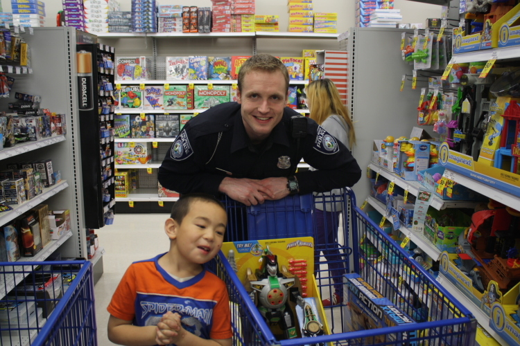 Shop with a Cop is a great day for officers and Port Huron Children.