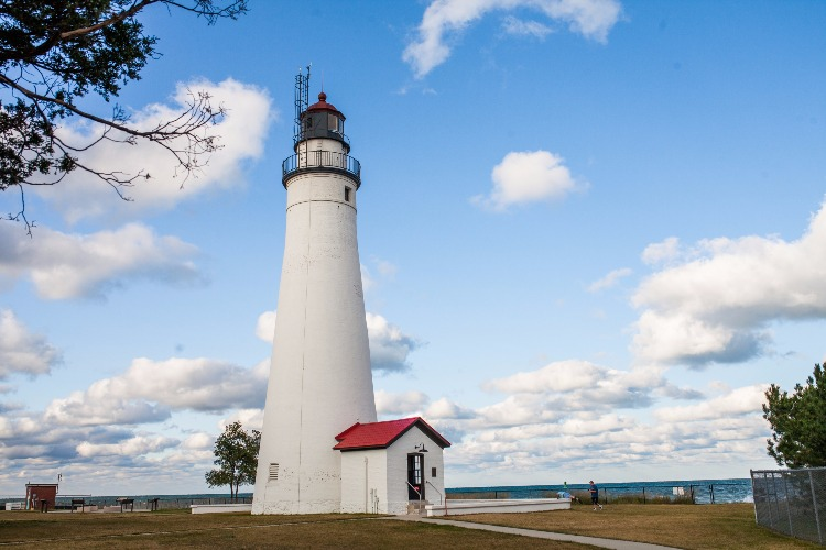 The Fort Gratiot Lighthouse is a beacon for tourists visiting Port Huron