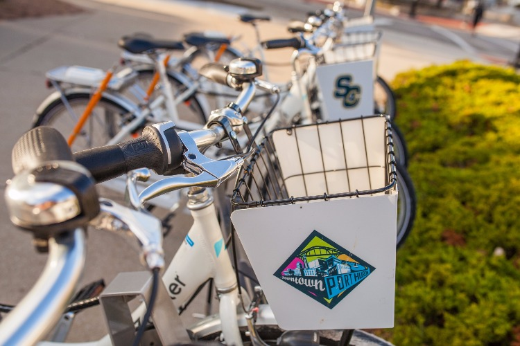 Bike sharing is already a popular choice in Port Huron.