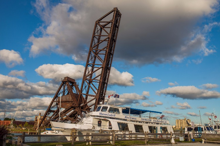 Explore the waterways with a cruise on the Huron Lady.