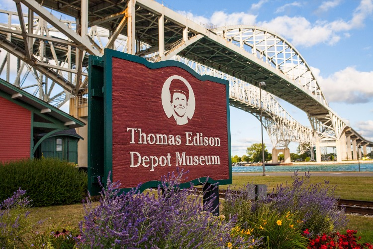 The Thomas Edison Depot Museum is a perfect stop for those intrigued by history.