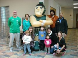 The YMCA received a grant from the Gerry Kramer Spartan Fund to help revitalize its building