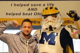 Port Huron resident Kyle Bailey is taking a big ride to boost organ donation awareness
