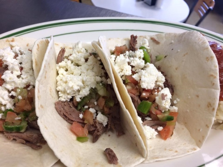 Lamb Tacos are a favorite at Cavis Grill