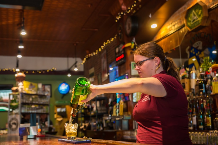 Visit Lynch's for a traditional Irish pub