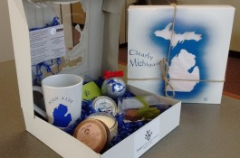 A variety of locally made goods are featured in each Makers Box.