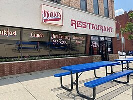 Maria's Corner Cafe now has expanded outdoor seating