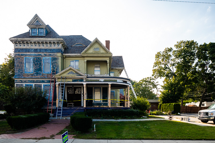 Unique homes with character and charm fill the OldeTown Port Huron neighborhood