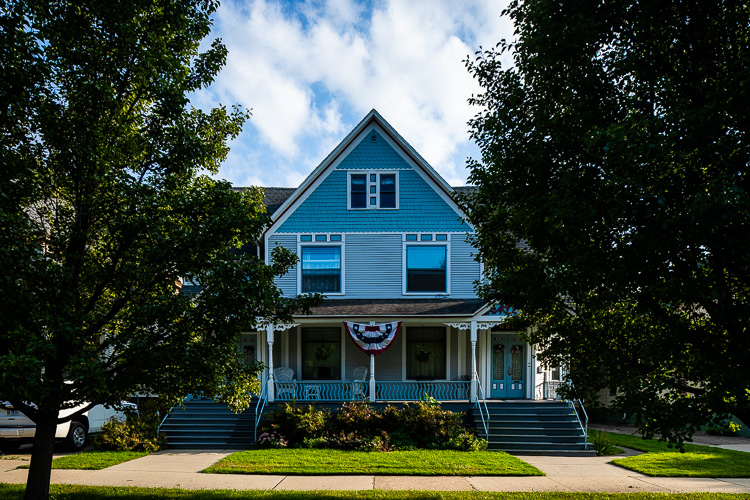 Home owners take pride in preserving their historic homes