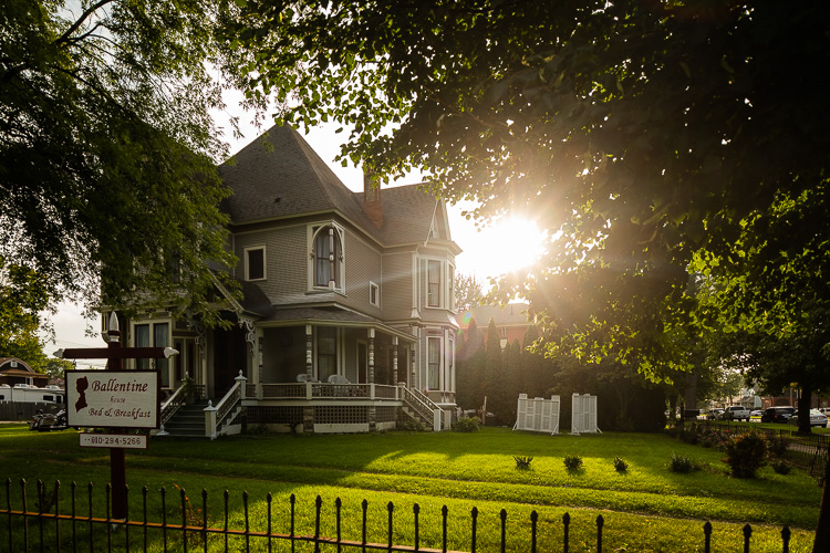 Ballantine House Bed & Breakfast is a welcoming site in Olde Town.