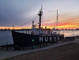 The Huron Lightship is one of the Port Huron Museum sites closed due to the pandemic
