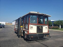 The trolley purchased by Port Huron Museums