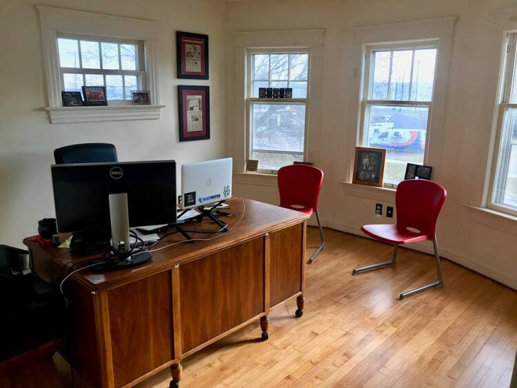 Private offices are available at The Roost