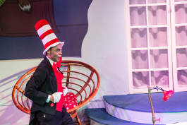 The Cat in the Hat creates mischief./Photo by Chamira Young