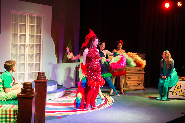"""Seussical the Musical"" brings family fun to the Riverbank Theatre stage./Photo by Chamira Young"