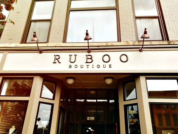 Finding Ruboo Boutique along Huron Avenue is easy.
