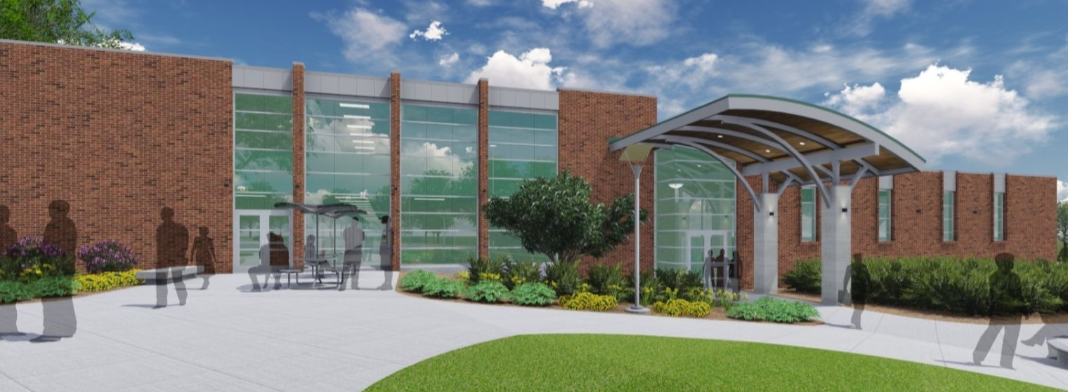 The upgraded Health Science Building will offer a wide array of programs and courses as well as enhance the training level for students. Students will be able to begin classes here in the fall of 2019. <span class='image-credits'>Courtesy St. Clair County Community College</span>