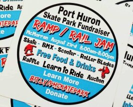 The Ramp/Rail Jam is a full day of fun and a chance to help raise funds for Port Huron's new skate park.
