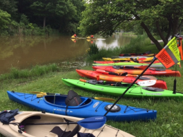 Ready to explore St. Clair County from the water? Join an upcoming community paddle.