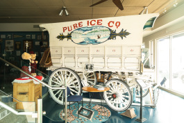Do you know the importance of ice cutting in the region? Learn more about the important history at Knowlton's Ice Museum.