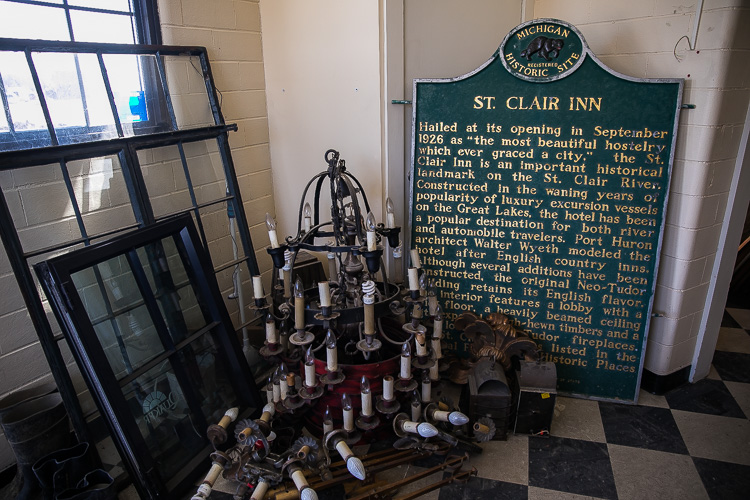 St. Clair Residents Are Eagerly Anticipating The New St. Clair Inn. The  Former Site Is Under Renovation, And Should Be Ready For Business In Spring  2019.